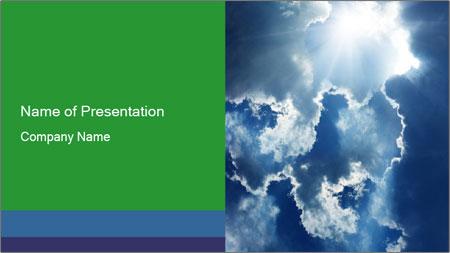 Bright sun PowerPoint Template