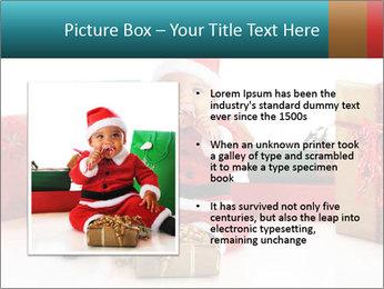 Baby Santa PowerPoint Template - Slide 13