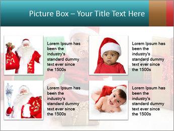 Baby Santa PowerPoint Template - Slide 14