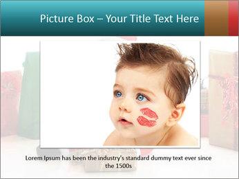 Baby Santa PowerPoint Template - Slide 16
