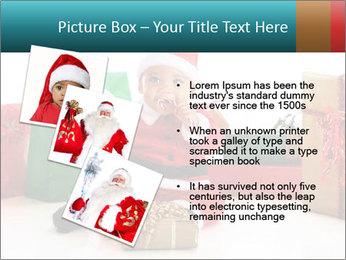 Baby Santa PowerPoint Template - Slide 17