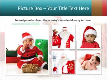 Baby Santa PowerPoint Template - Slide 19