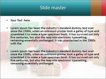Baby Santa PowerPoint Template - Slide 2