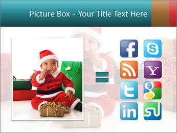 Baby Santa PowerPoint Template - Slide 21
