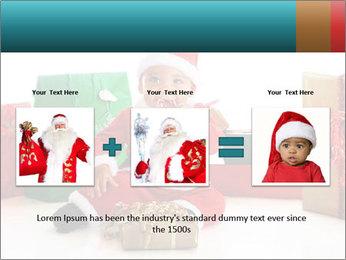 Baby Santa PowerPoint Template - Slide 22