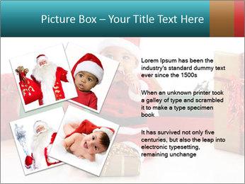 Baby Santa PowerPoint Template - Slide 23