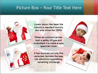 Baby Santa PowerPoint Template - Slide 24