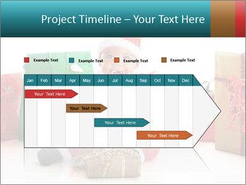 Baby Santa PowerPoint Template - Slide 25