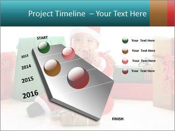 Baby Santa PowerPoint Template - Slide 26
