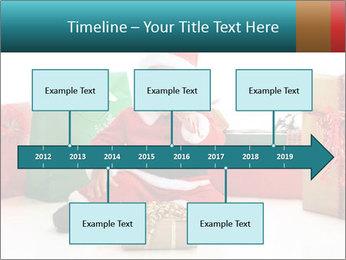 Baby Santa PowerPoint Template - Slide 28