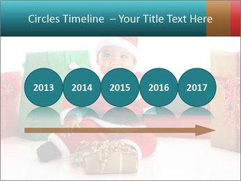 Baby Santa PowerPoint Template - Slide 29