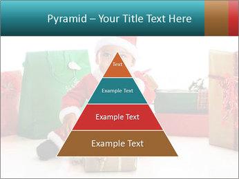Baby Santa PowerPoint Template - Slide 30