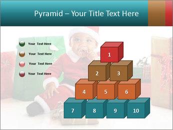 Baby Santa PowerPoint Template - Slide 31