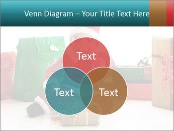 Baby Santa PowerPoint Template - Slide 33