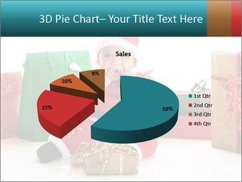 Baby Santa PowerPoint Template - Slide 35