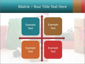 Baby Santa PowerPoint Template - Slide 37