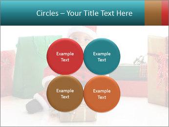 Baby Santa PowerPoint Template - Slide 38