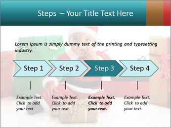 Baby Santa PowerPoint Template - Slide 4
