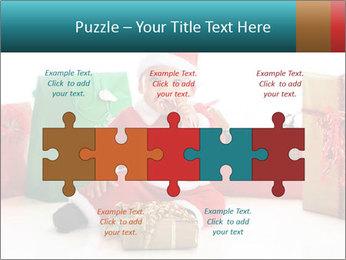 Baby Santa PowerPoint Template - Slide 41