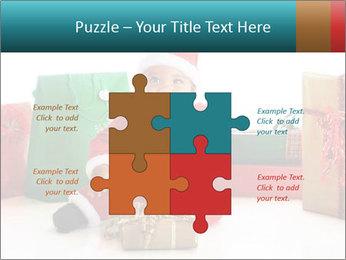 Baby Santa PowerPoint Template - Slide 43