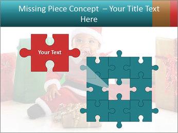 Baby Santa PowerPoint Template - Slide 45