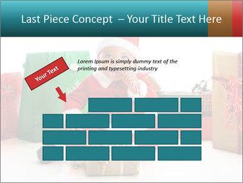 Baby Santa PowerPoint Template - Slide 46