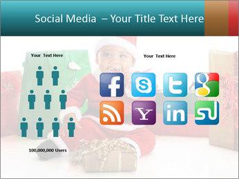 Baby Santa PowerPoint Template - Slide 5