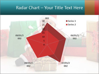 Baby Santa PowerPoint Template - Slide 51