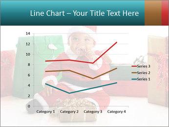 Baby Santa PowerPoint Template - Slide 54