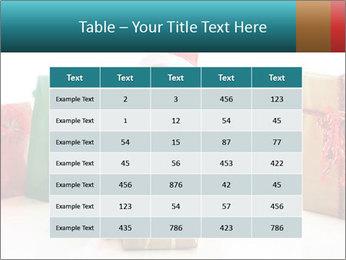Baby Santa PowerPoint Template - Slide 55