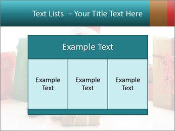 Baby Santa PowerPoint Template - Slide 59