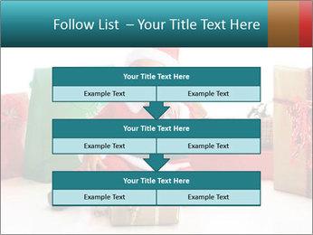 Baby Santa PowerPoint Template - Slide 60