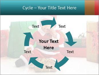 Baby Santa PowerPoint Template - Slide 62