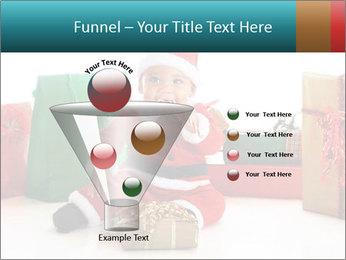 Baby Santa PowerPoint Template - Slide 63