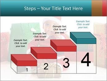 Baby Santa PowerPoint Template - Slide 64