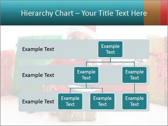 Baby Santa PowerPoint Template - Slide 67