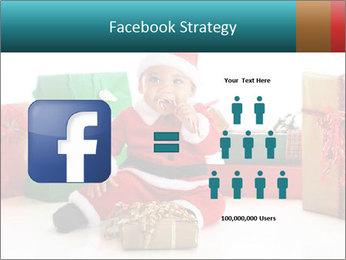 Baby Santa PowerPoint Template - Slide 7