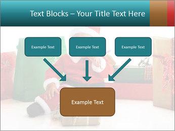 Baby Santa PowerPoint Template - Slide 70