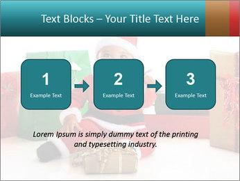 Baby Santa PowerPoint Template - Slide 71