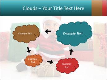 Baby Santa PowerPoint Template - Slide 72