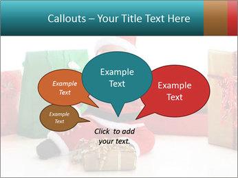 Baby Santa PowerPoint Template - Slide 73
