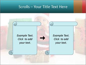 Baby Santa PowerPoint Template - Slide 74