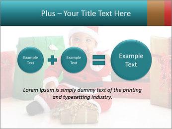 Baby Santa PowerPoint Template - Slide 75