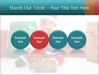 Baby Santa PowerPoint Template - Slide 76
