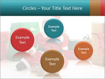 Baby Santa PowerPoint Template - Slide 77
