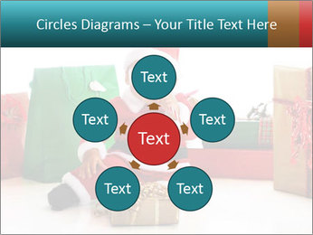 Baby Santa PowerPoint Template - Slide 78