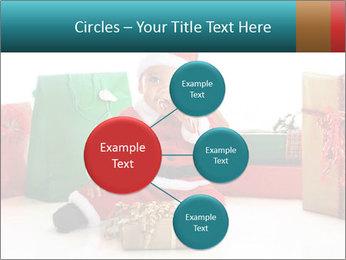 Baby Santa PowerPoint Template - Slide 79