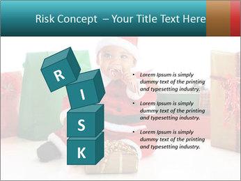 Baby Santa PowerPoint Template - Slide 81