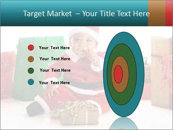 Baby Santa PowerPoint Template - Slide 84