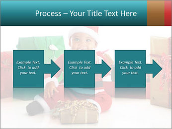 Baby Santa PowerPoint Template - Slide 88